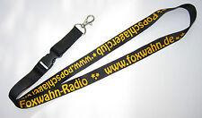Foxwahn Radio Schlüsselband Lanyard NEU (T190)
