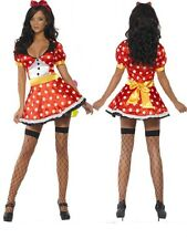 Women's Carnival Costume Minnie Mouse Mary Mouse Smiffys 21010 17605