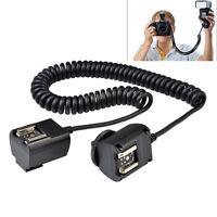 Godox TL-C 3M E-TTL Flash Sync Cord Cable Off-camera Hot Shoe for Canon Camera