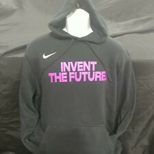 Nike Nationals EYBL Black (with Fuchsia) Men's Hoodie **Brand New**-2XL