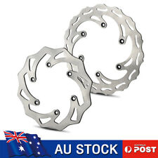 Front Rear Brake Disc Rotors for KTM 125 250 350 450 530 SX XC XCW EXC SMR SX-F