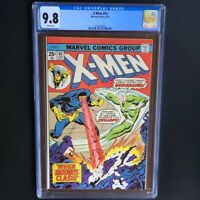 X-MEN #93 (1975) 💥 CGC 9.8 WHITE PGs 💥 HIGHEST GRADED - 1 OF ONLY 6! Cyclops