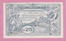 FRANCE Union Commerçants De BÉZIERS NOTE 0,25 Francs - a/UNC 1920's Rare LOOK!