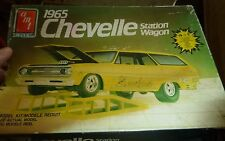 AMT 1965 Chevelle Station Wagon 1/25 MODEL CAR MOUNTAIN OPEN