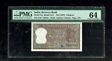 Republic India   2 Rupees   1967   D Bhattacharya   P51a   PMG-64