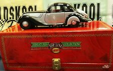 Guiloy 1937 BMW 327 Coupe Black /Silver Top Line Miniatures Box W/Key 1:18 scale
