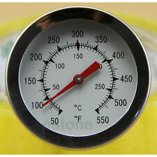 Convenient Precise Temperature Stainless Steel Meat Thermometer with Large Dial