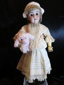 """Stunning 30"""" Antique Bisque Head Doll ~ Heinrich Handwerck ~ 109 / 15 / DEP"""