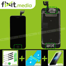 iPhone 6S Display mit RETINA LCD Glas VORMONTIERT Komplett SCHWARZ FIXIT.MEDIA
