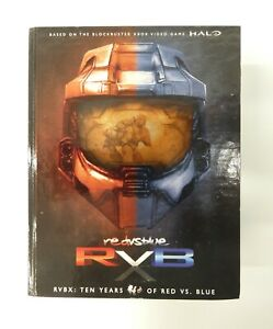 R v B, RVBX: Ten Years of Red Vs Blue - XBOX 360, Region NTSC, 14 Discs