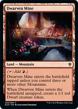 4x MINIERA DEI NANI - DWARVEN MINE Magic ELD Mint