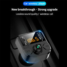 Bluetooth Car FM Transmitter MP3 Player Radio Wireless Adapter Kit 2 USB Charger