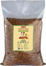 10lbs Bulk Non-Gmo Dried Mealworms for Reptile , Tortoise ; Amphibian ,Lizard ;