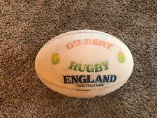 Gilberts Rugby England White Ball