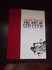 The Art of Sin City Hard Cover Book by Frank Miller