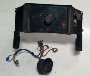 """LANDROVER MILITARY Series 3 6""""way Switch panel Complete Wiring Infra Red (ws2b)"""