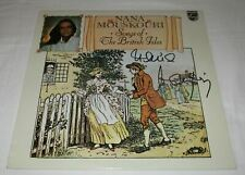 NANA MOUSKOURI SIGNED SONGS OF THE BRITISH ISLES VINYL RECORD