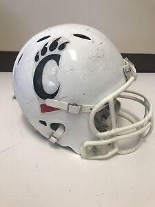 University of Cincinnati Bearcats Game Used Football Helmet Riddell Size Medium