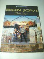 BON JOVI 1996 THESE DAYS TOUR 1996 Concert Tour Program Book