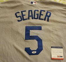 Corey Seager signed LA Dodgers Majestic cool base jersey PSA/DNA # AC79253