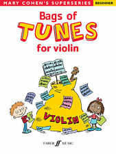 Bags Of Tunes for Violin Instrumental Solo Beginner Learn Play FABER Music BOOK
