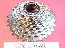 Shimano  HG70 - 8 Speed  11 / 28 cassette sprocket set - NOS L'eroica