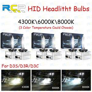 2x D3S D3R D3C Factory OEM HID Xenon Bulbs Replace Sylvania or OSRAM Headlight