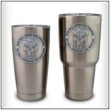 Army Skull ACU Camo Military Decal Sticker compatible with YETI Tumbler