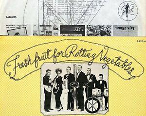 DEAD KENNEDYS first LP w/ BAND 1.Press 1980 + POSTER Misfits Punk KBD Black Flag
