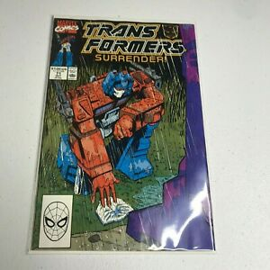 Transformers #71 Near Mint White Pages