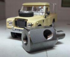 Land Rover Serie Durite Manómetro de aceite Capillary Manguera BLOQUE ADAPTADOR