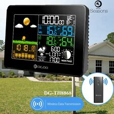 Digoo Colour Digital Temperature Humidity Meter Barometer Weather Station Sensor