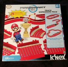 K'Nex Nintendo Mario Kart Wii Track Expansion Pack 25 Track pieces 120 pc total