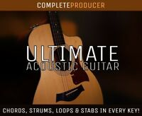 Ultimate Acoustic Guitar Samples | Strums Loops Stabs Chords ALL KEYS! ALL DAWS!