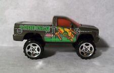 C1  2002 Matchbox Dodge Ram SRT-10, Lifted, Brown w/Graphics, Hero City, Nice!