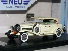NEO Deluxe 1930 Duesenberg Model J Derham Tourster Ivory 1/43
