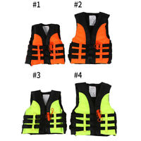 Children Life Jacket Swimming Boating Drifte Ski Foam Vest + Survival Whistle SG