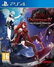 PS4 jeu Deception 4 IV The Nightmare Princess Produit Neuf