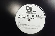 SLICK RICK & WARREN G Behind Bars 33RPM 011416 TLJ