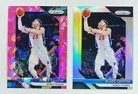 2018-19 Panini Prizm Blake Griffin 2 Card Lot Silver & Pink Ice #172