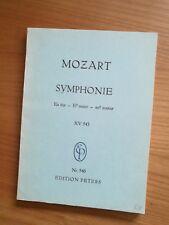 Noten. Mozart. Sinfonie Es-Dur KV 543. Taschenpartitur.