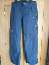 Arcteryx Womens Ski Pants Size 6 (UK 10) Dark Blue