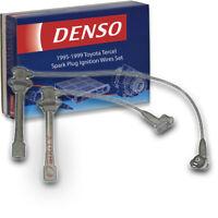 Denso Spark Plug Ignition Wires Set for Toyota Tercel 1.5L L4 1995-1999 Tune vn