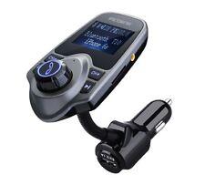 VicTsing Best Small Digital Portable Stereo Wireless Bluetooth FM Transmitter