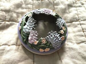 New Yankee Candle Illuma Lid Topper Pastel Spring Flowers