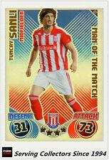 2010-11 Topps Match Attax Man Of Match Foil No 421 Tumcay Sanli (Stoke City)
