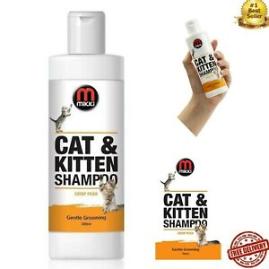 Mikki Cat and Kitten Shampoo, 250 ml Crisp Pear Less rinsing required