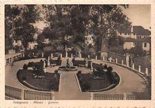 Cartolina Portogruaro Abbazia Giardini 1939
