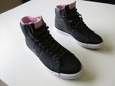 Women's NIKE 'Blazer Hi' Sz 8 US shoes Brand New Metallic Blk | 3+ Extra 10% Off