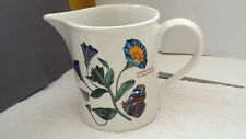 LARGE PORTMEIRION WATER / CUSTARD JUG TRIALING BINDWEED  AND DAISY  PATTERNS
